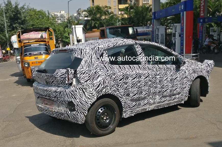 Tata continues road-testing 45X hatchback in India