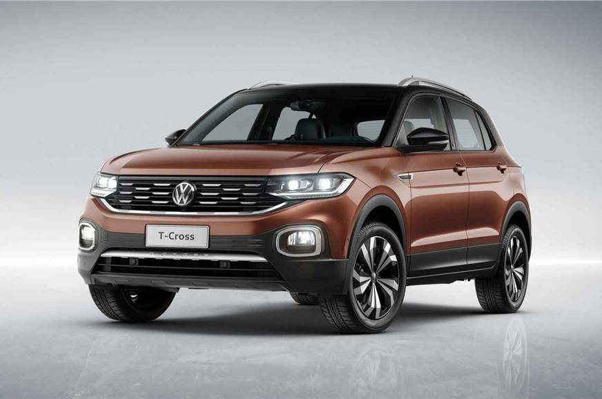 india bound volkswagen t cross suv revealed autocar india. Black Bedroom Furniture Sets. Home Design Ideas