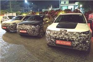 India-spec Jeep Compass Trailhawk spied
