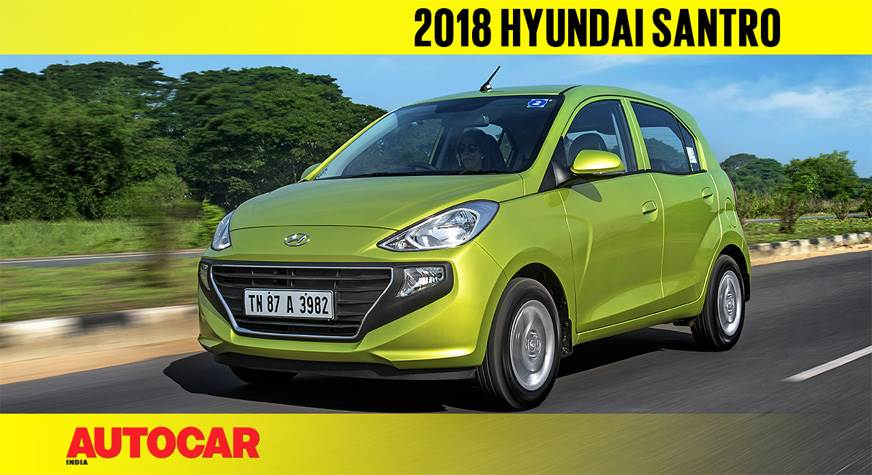 2018 Hyundai Santro video review
