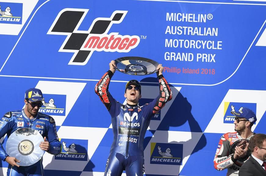 2018 Australian MotoGP – Vinales ends Yamaha's drought