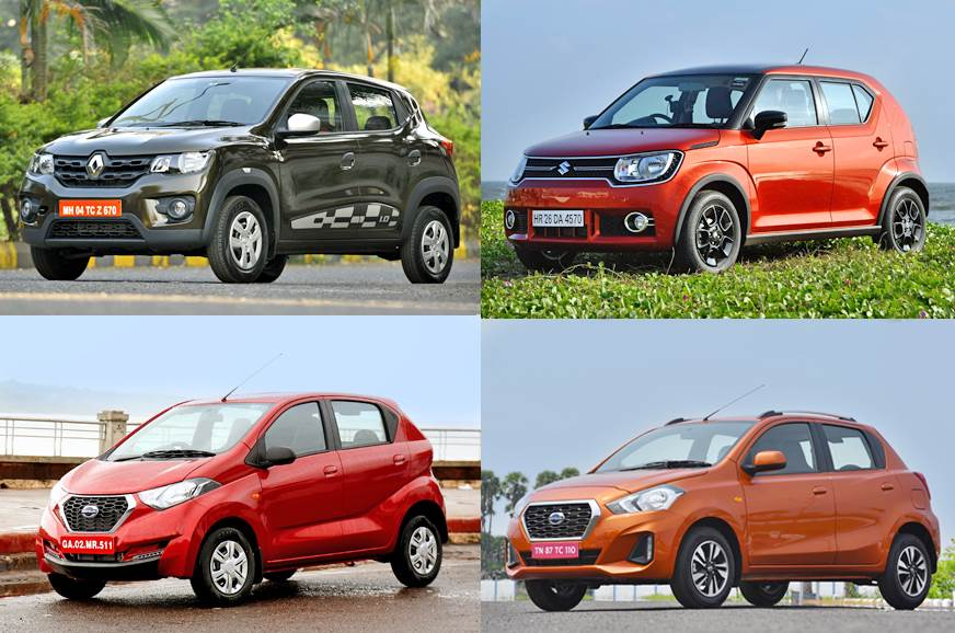 10 lightest cars on sale in India