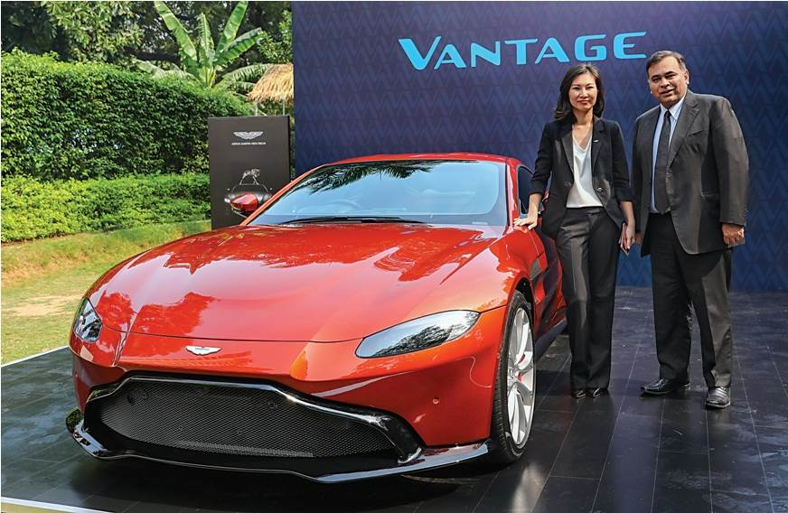 Aston Martin outlines future plans for India