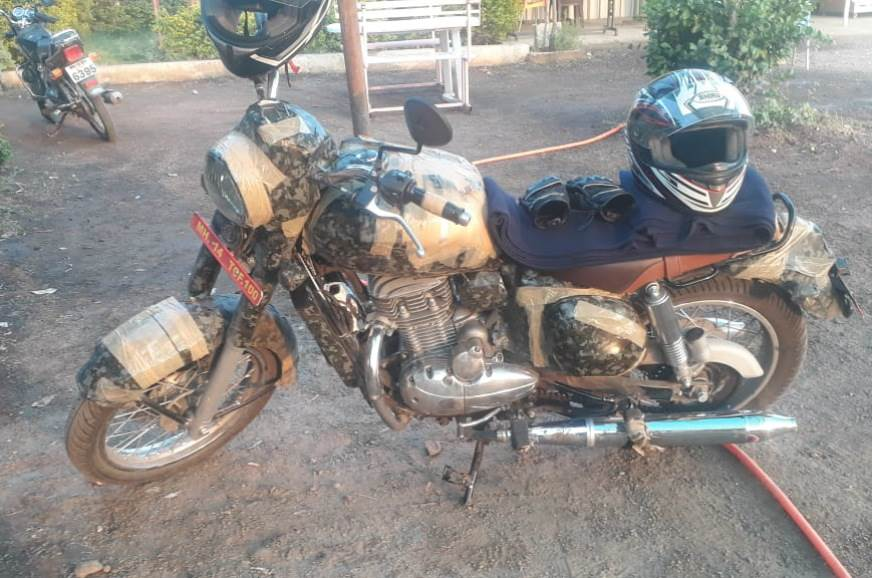 Upcoming Jawa motorcycle spotted