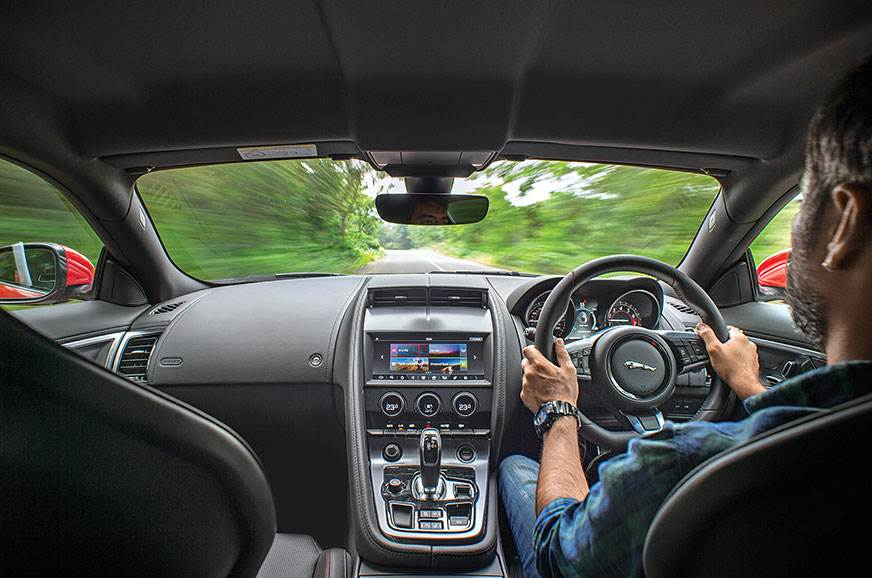 Interiors look a bit ordinary for a sportscar but are dri...