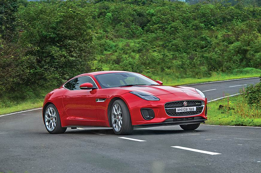 2018 Jaguar F-Type P300 review, test drive