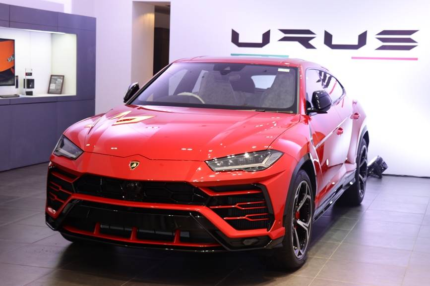 India's first Lamborghini Urus was delivered on September 10, 2018 to a customer in Mumbai.