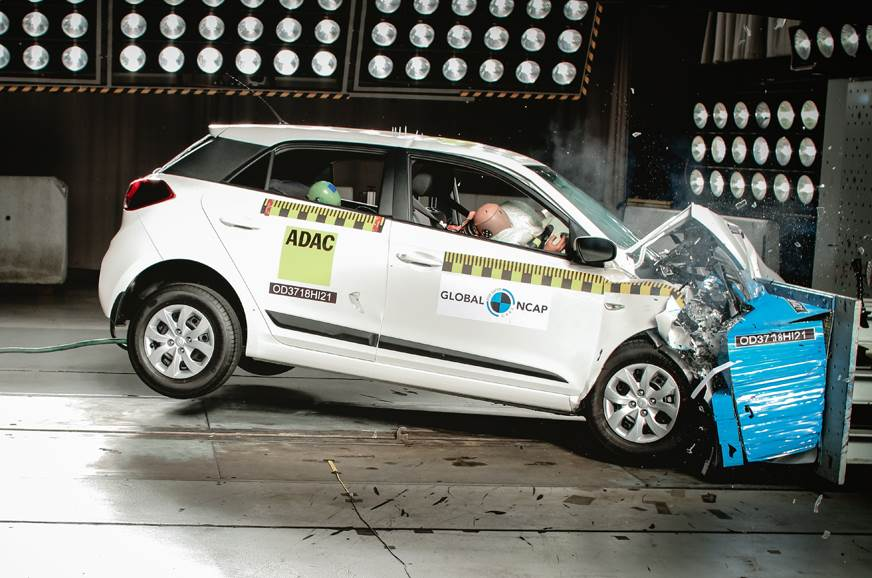 Made-in-India Hyundai i20 scores three stars in Global NCAP test