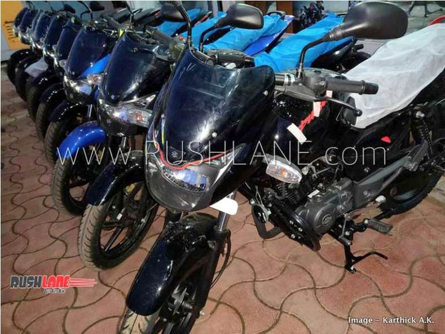 Bajaj Pulsar 150 limited edition spied
