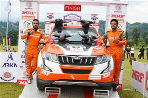INRC Round 3: Ghosh clinches 2018 Rally of Arunachal victory