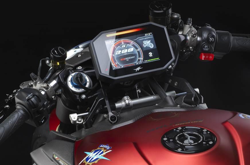 MV Agusta Brutale 1000 Serie Oro console