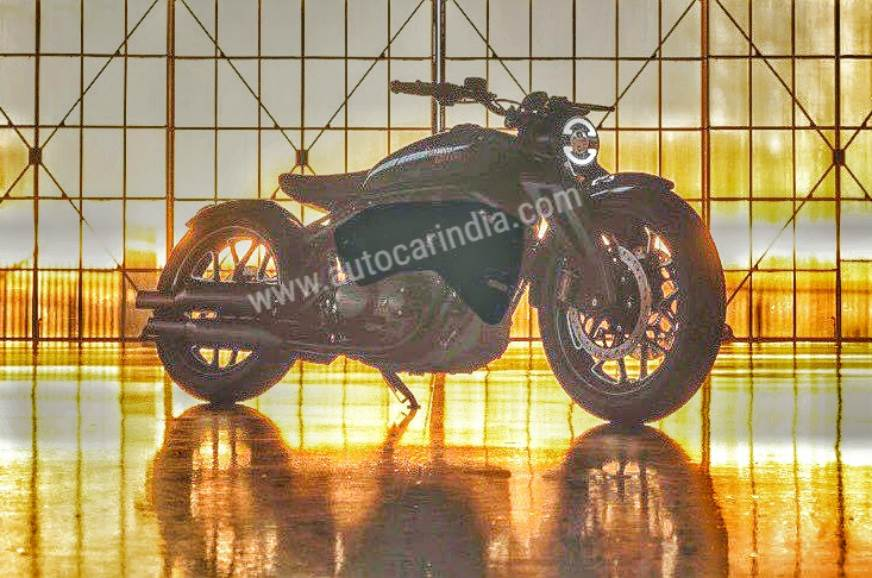 Royal Enfield V-Twin concept details emerge