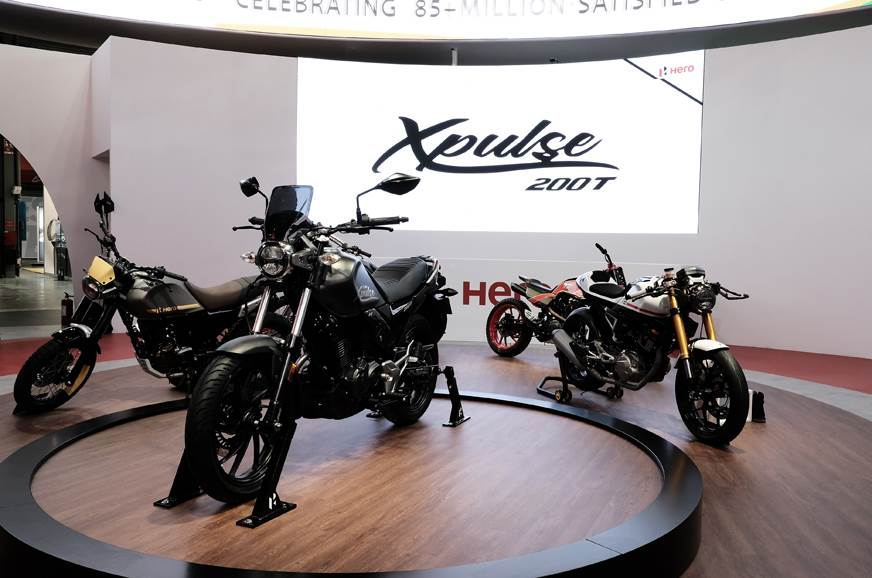 2018 EICMA: Hero Xpulse 200, 200T to be launched in India