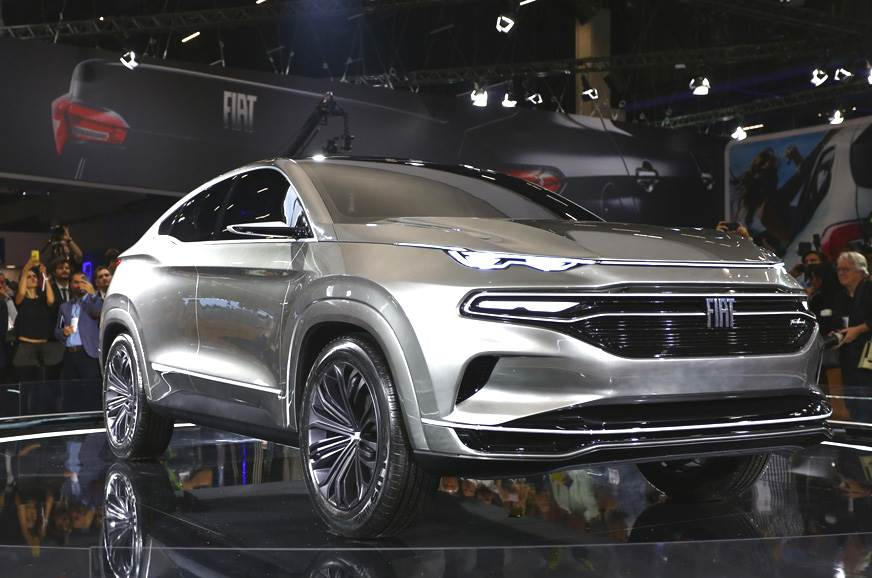 Fiat Fastback SUV concept unveiled at Sao Paulo