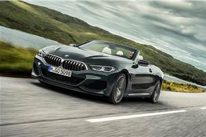 BMW 8-series convertible revealed
