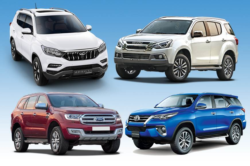 2018 Mahindra Alturas G4 vs rivals: Specifications comparison