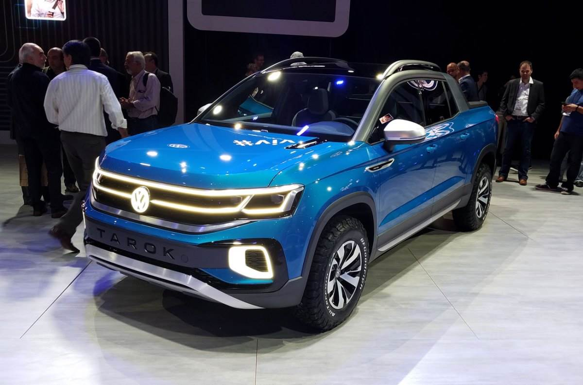 Volkswagen Tarok pickup revealed