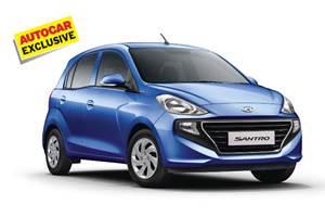 Hyundai Santro AMT grabs 30 percent of bookings