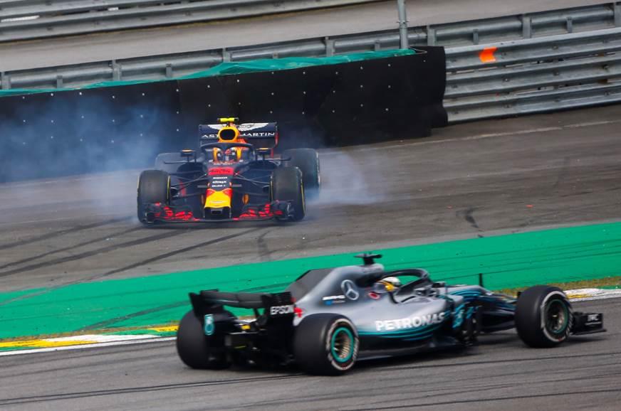 Mercedes wraps up constructors' title as Hamilton wins Brazil GP