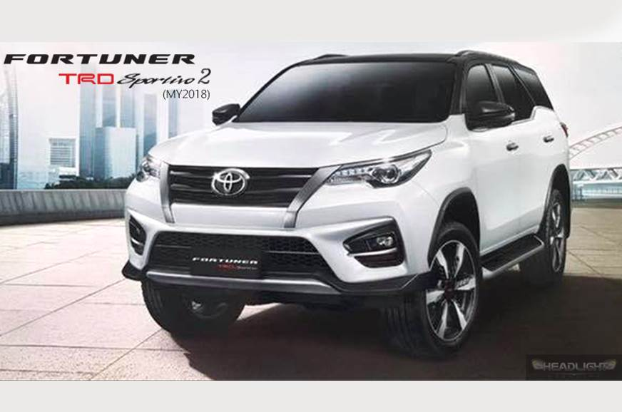Toyota Fortuner TRD Sportivo 2 revealed