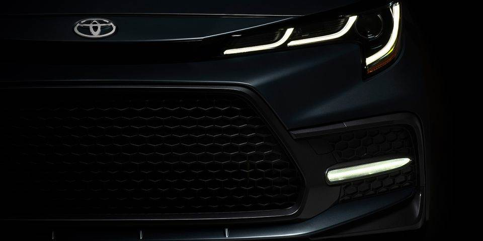 2020 Toyota Corolla teased ahead of official reveal