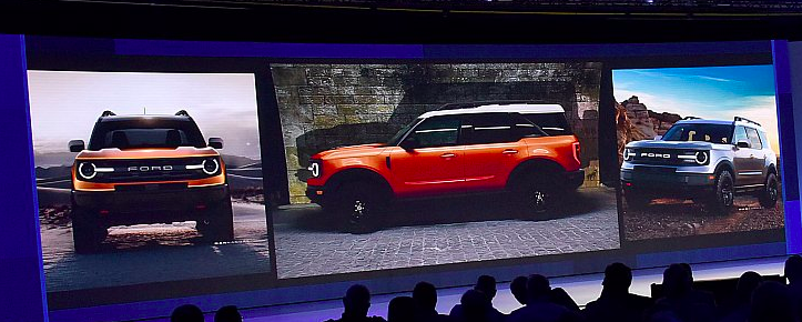 New Ford Bronco SUV leaked at a dealer event