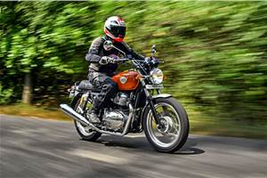 2018 Royal Enfield Interceptor 650 India review, test ride