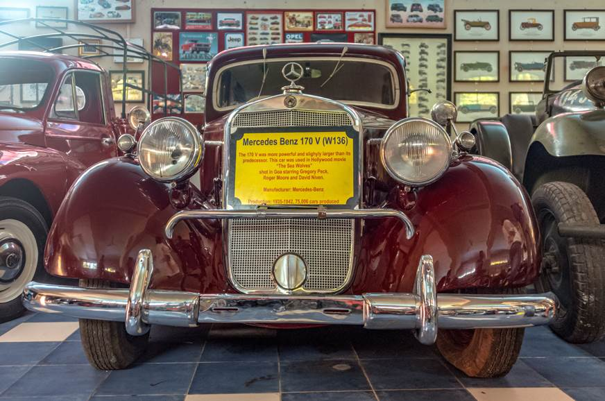 The Mercedes Benz 170V was the most successful Mercedes c...