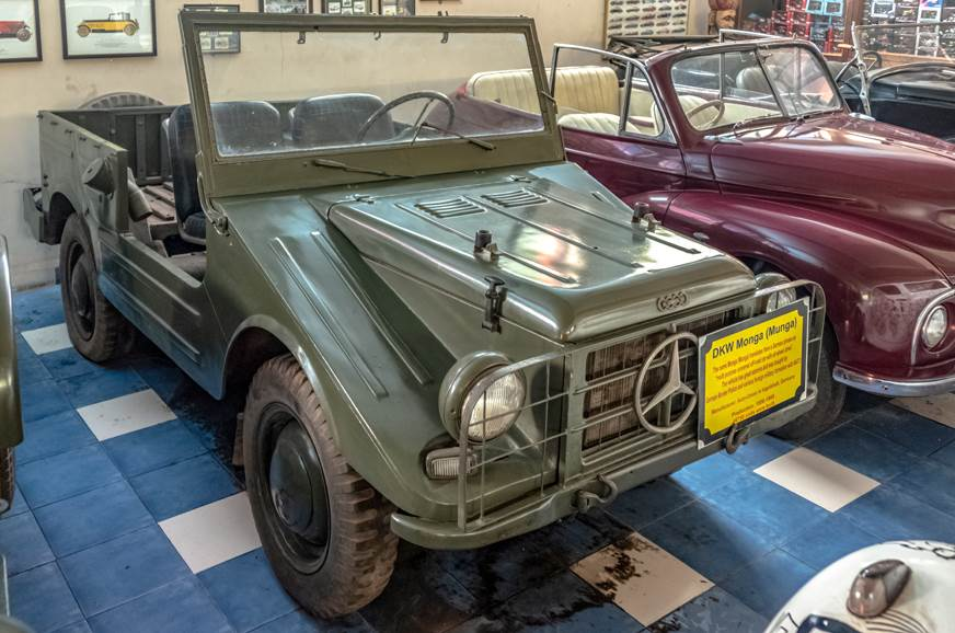 The DKW Munga is an all-wheel drive, all-terrain vehicle ...