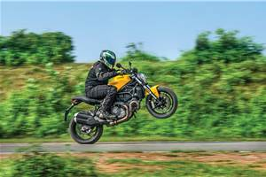 2018 Ducati Monster 821 review, test ride