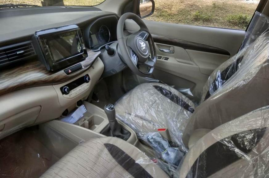 India-spec Maruti Suzuki Ertiga interior revealed
