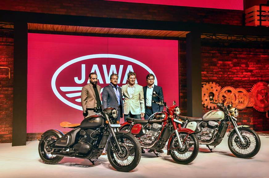 Jawa launches three models, prices start from Rs 1.55 lakh
