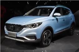 India-bound MG eZS SUV unveiled