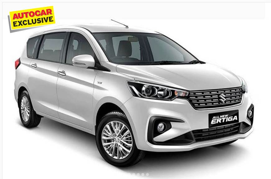 New Maruti Suzuki Ertiga variant break up revealed