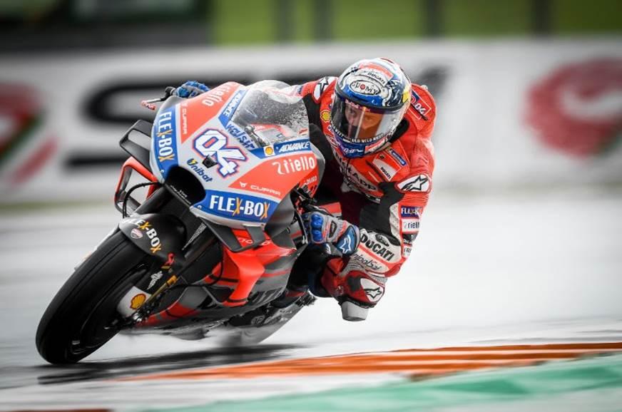2018 Valencia MotoGP – Dovizioso masters tricky conditions