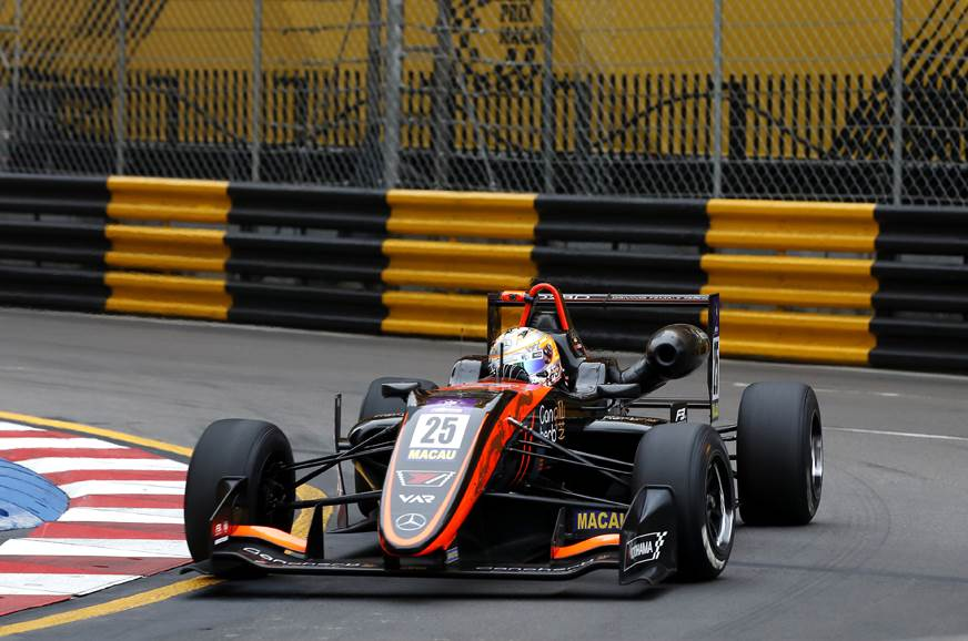 F3 racer Sophia Floersch undergoing surgery for spinal fr...