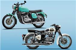 Jawa Forty Two vs Royal Enfield Classic 350: Specifications comparison