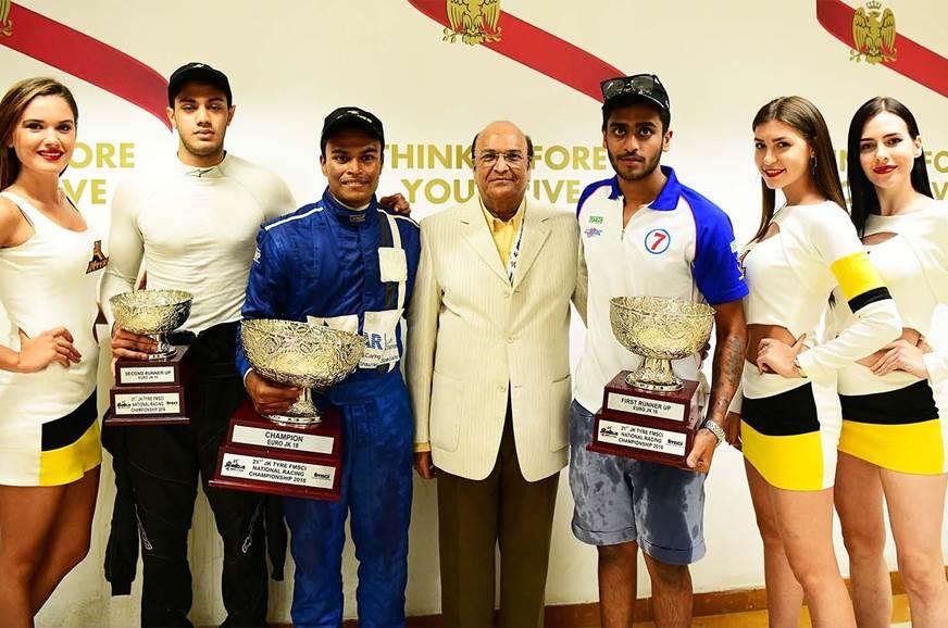 Tharani wins 2018 Euro JK title