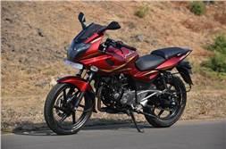 Upcoming Bajaj Pulsar 220F ABS spotted