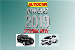 New cars for 2019: Upcoming MPVs