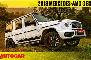 2018 Mercedes-AMG G 63 video review