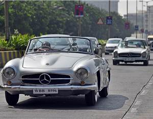 2018 Mercedes-Benz Classic Car Rally to be held on December 9