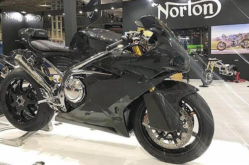 Norton Superlight sports bike unveiled