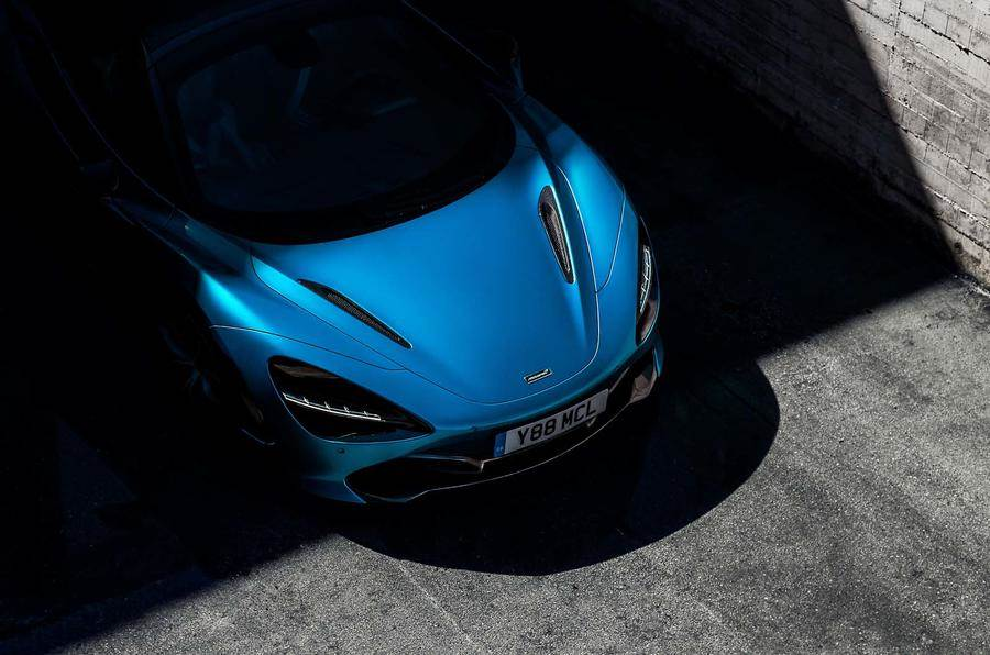 McLaren 720S Spider teased before official reveal