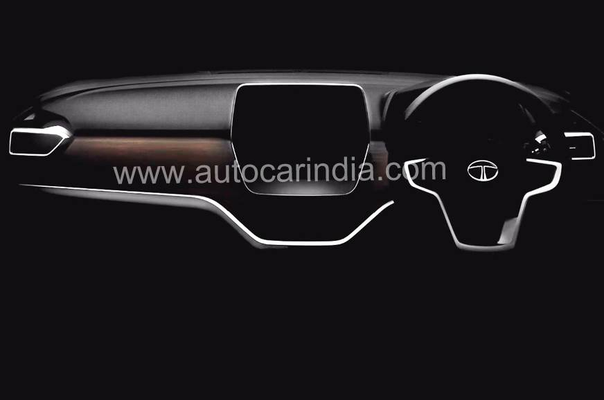 Tata Harrier interior teaser out