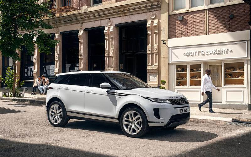 New Range Rover Evoque revealed ahead of LA debut