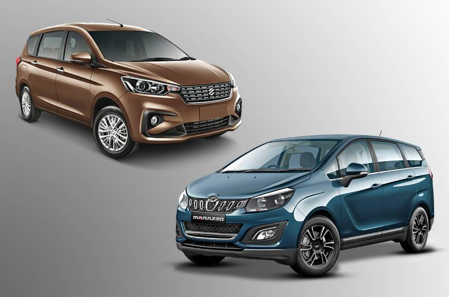 New Maruti Suzuki Ertiga vs Mahindra Marazzo: Specifications comparison