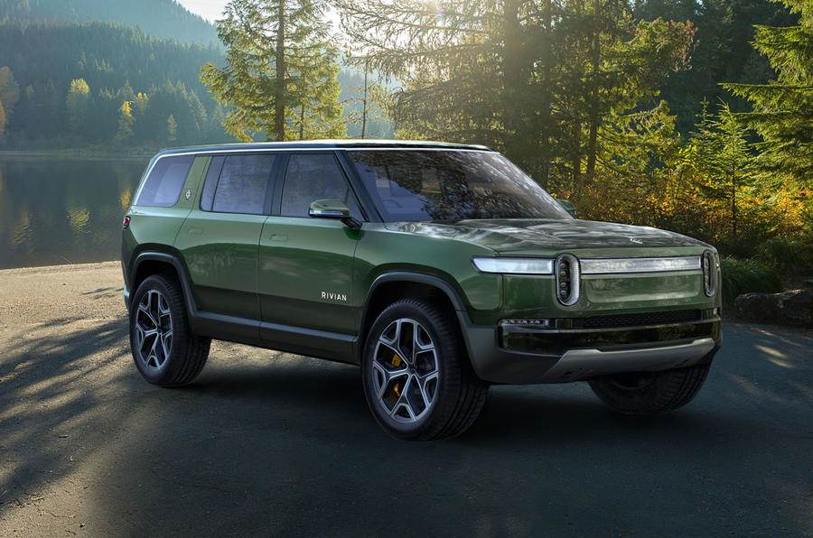All-electric Rivian R1S SUV, R1T pickup truck revealed