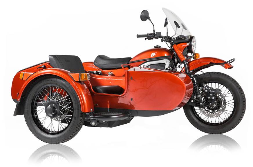 Ural unveils sidecar-equipped electric motorcycle
