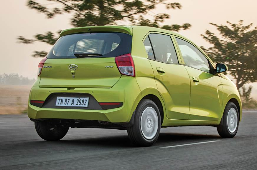 New car is wider and longer than the original Santro, and...